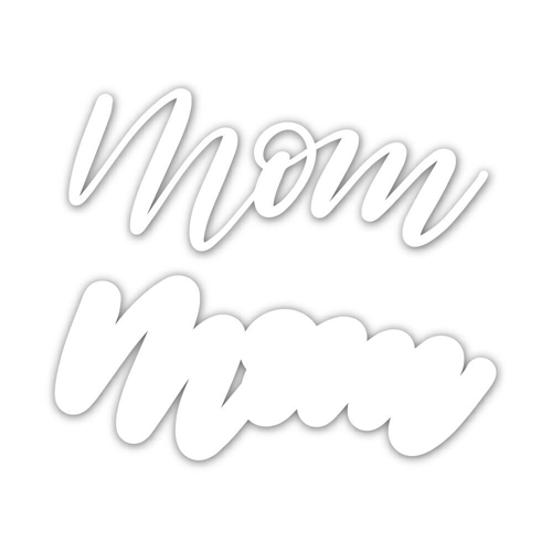 Simon Says Stamp SCRIPT MOM Wafer Dies sssd111826 Preview Image
