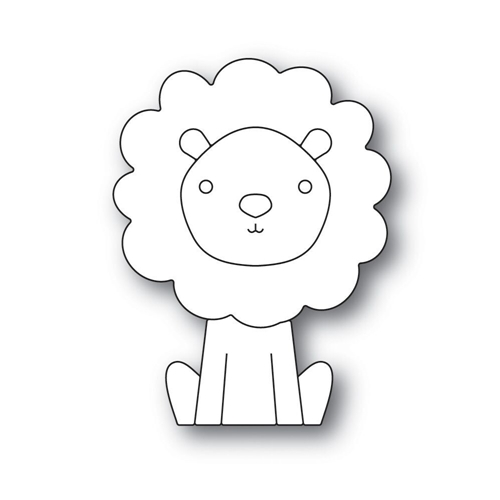 Simon Says Stamp PICTURE BOOK LION Wafer Dies s517 Fluttering By Preview Image