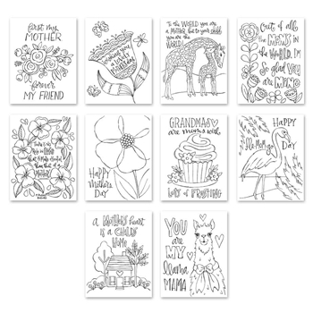 Simon Says Stamp Suzy's MOTHERS DAY Watercolor Prints szwcm18