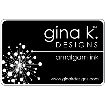 Gina K Designs JET BLACK AMALGAM Ink Pad 4020