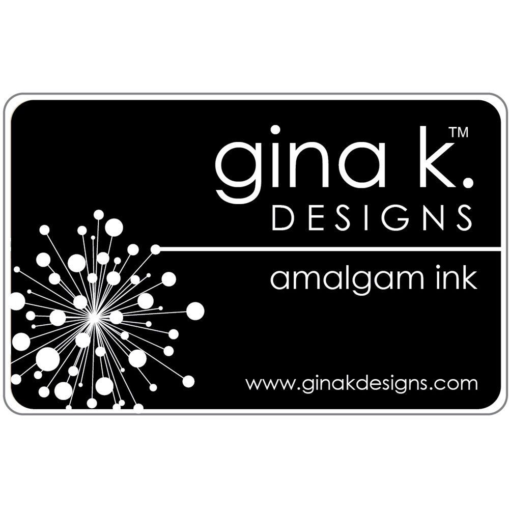 Gina K Designs JET BLACK AMALGAM Ink Pad 4020 zoom image