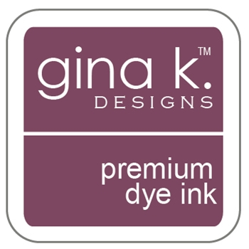 Gina K Designs PLUM PUNCH Cube Premium Dye Ink Mini Pad 4129