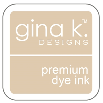 Gina K Designs SANDY BEACH Cube Premium Dye Ink Mini Pad 4013