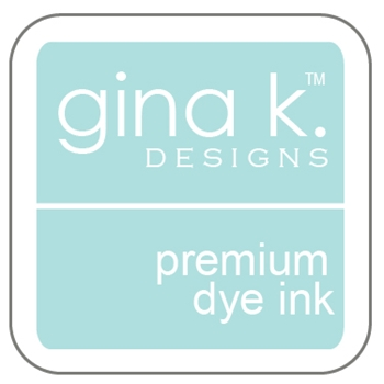 Gina K Designs SEA GLASS Cube Premium Dye Ink Mini Pad 4009