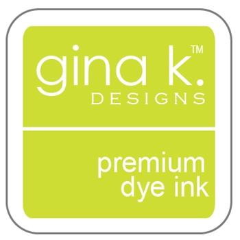Gina K Designs KEY LIME Cube Premium Dye Ink Mini Pad 4181
