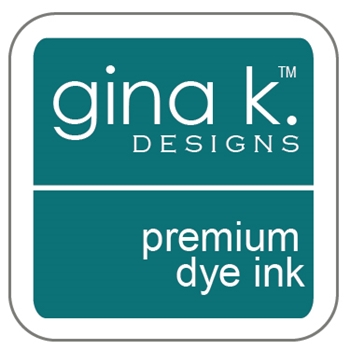 Gina K Designs TRANQUIL TEAL Cube Premium Dye Ink Mini Pad 4242