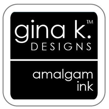 Gina K Designs JET BLACK AMALGAM Cube Ink Mini Pad