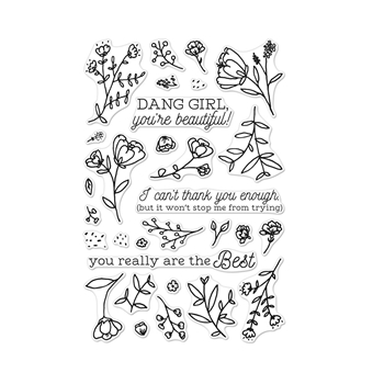 Hero Arts Clear Stamps YOU'RE BEAUTIFUL CM258