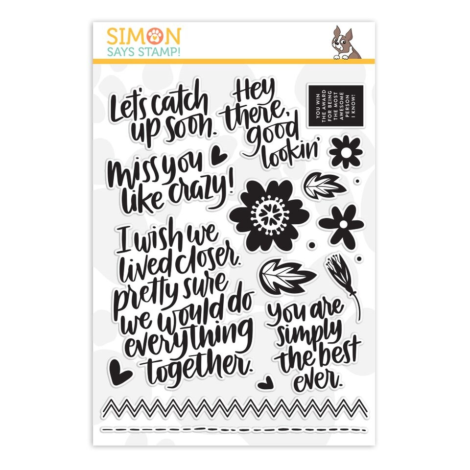 Simon Says Clear Stamps EVERYTHING TOGETHER sss101825 zoom image