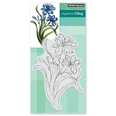 Penny Black Cling Stamp SUMMER GLOW Rubber Unmounted 40-610 zoom image