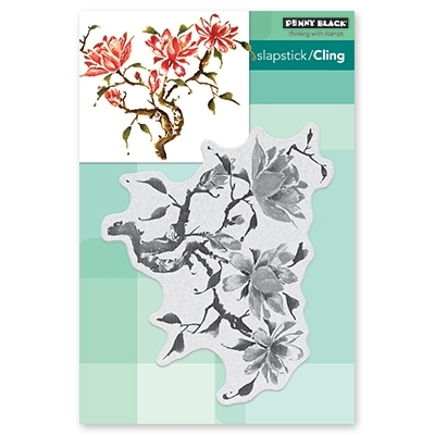 Penny Black Cling Stamp SUMMER DREAM Rubber Unmounted 40-602 Preview Image
