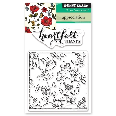 Penny Black Clear Stamps APPRECIATION 30-488 Preview Image