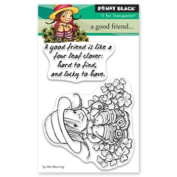 Penny Black Clear Stamps A GOOD FRIEND 30-486