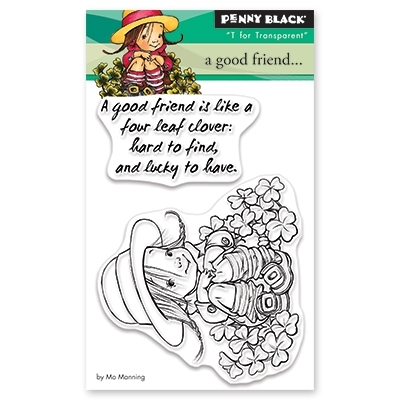 Penny Black Clear Stamps A GOOD FRIEND 30-486 zoom image