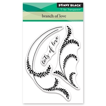 Penny Black Clear Stamps BRANCH OF LOVE 30-476