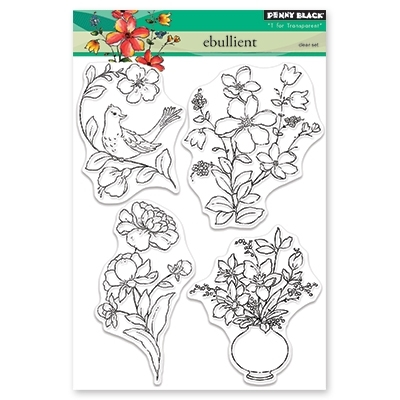 Penny Black Clear Stamps EBULLIENT 30-474 Preview Image