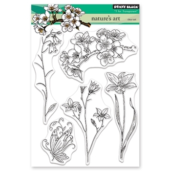 Penny Black Clear Stamps NATURE'S ART 30-469