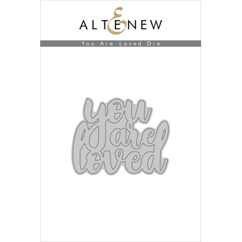Altenew YOU ARE LOVED Die Set ALT2249