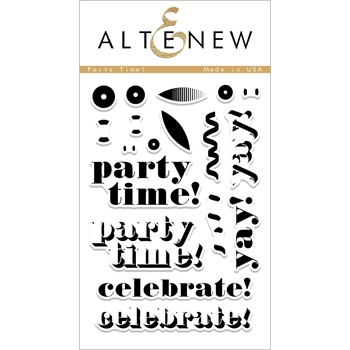 Altenew PARTY TIME Clear Stamp Set ALT2234