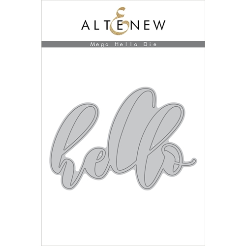Altenew MEGA HELLO Die ALT2230 Preview Image