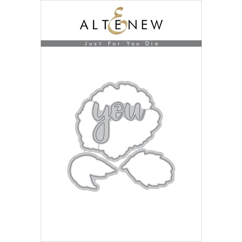 Altenew JUST FOR YOU Die Set ALT2227 Preview Image