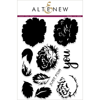 Altenew JUST FOR YOU Clear Stamp Set ALT2226
