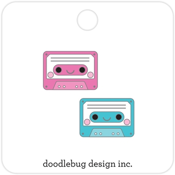 Doodlebug TINY TAPES Collectible Pins Sweet Summer 5916