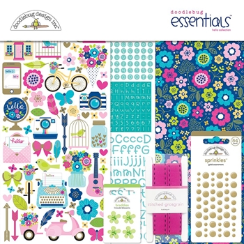 Doodlebug HELLO Collection Essentials Kit 6002