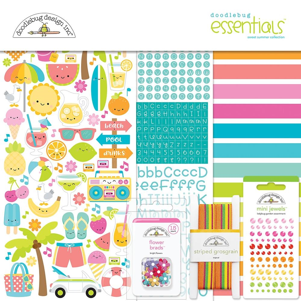 Doodlebug SWEET SUMMER Collection Essentials Kit 6001 zoom image