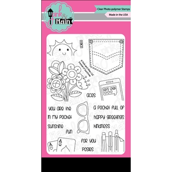 Pink and Main POCKET OF SUNSHINE Clear Stamp Set PM0271