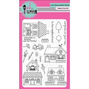 Pink and Main PINK AVENUE Clear Stamp Set PM0269