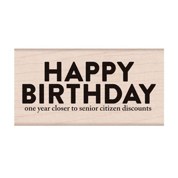 Hero Arts Rubber Stamp SNARKY BIRTHDAY H6286