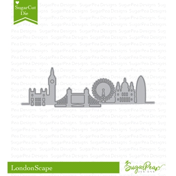 SugarPea Designs LONDONSCAPE SugarCuts Dies spd-00280