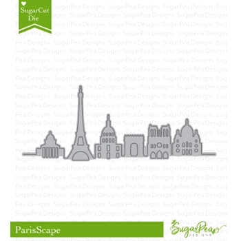 SugarPea Designs PARISSCAPE SugarCuts Dies spd-00281