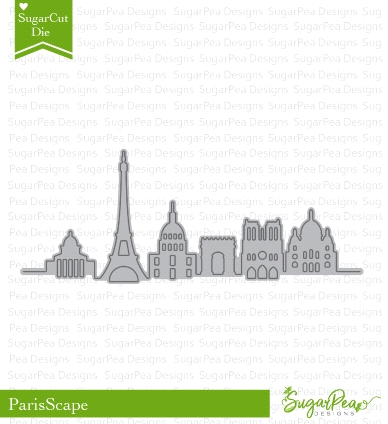 SugarPea Designs PARISSCAPE SugarCuts Dies spd-00281 zoom image