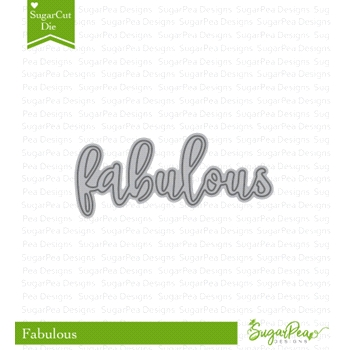 SugarPea Designs FABULOUS SugarCuts Dies spd-00285