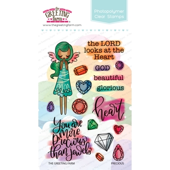 The Greeting Farm PRECIOUS Clear Stamps TGF399