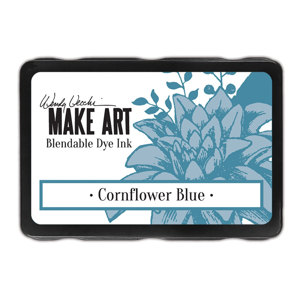 Ranger Wendy Vecchi CORNFLOWER BLUE Make Art Dye Ink Pad wvd62585 zoom image