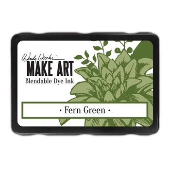 Ranger Wendy Vecchi FERN GREEN Make Art Dye Ink Pad wvd62592
