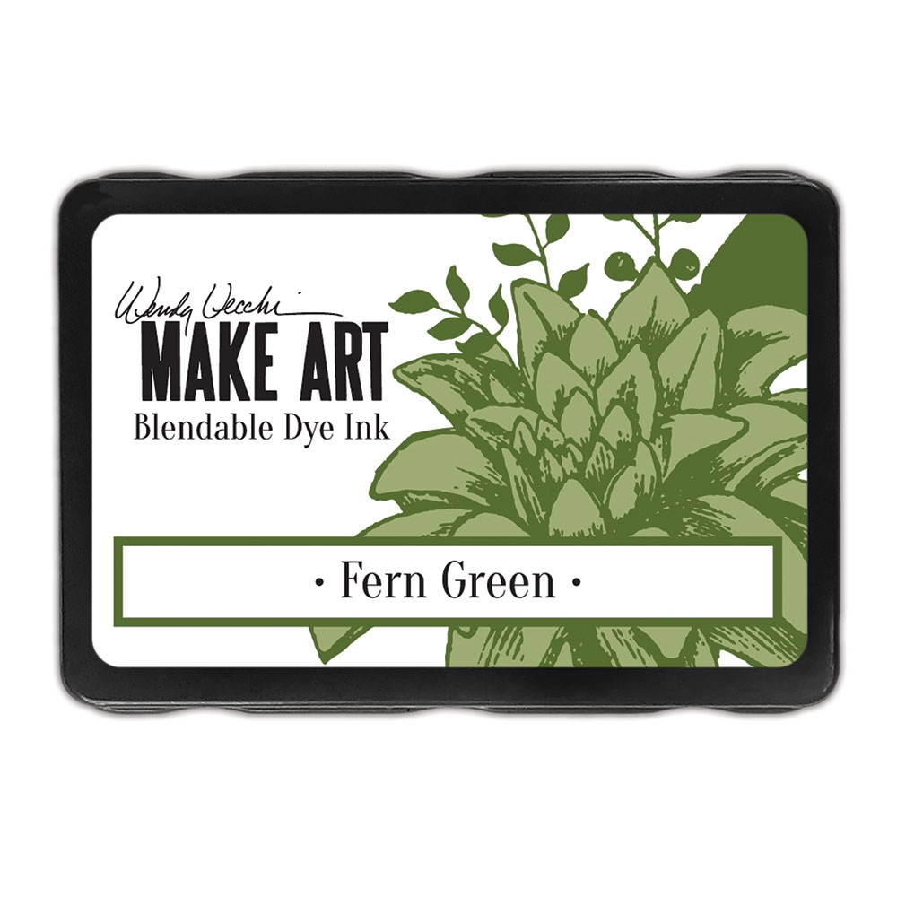 Ranger Wendy Vecchi FERN GREEN Make Art Dye Ink Pad wvd62592 zoom image
