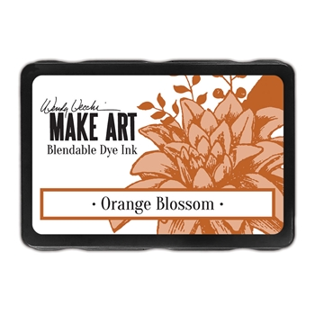 Ranger Wendy Vecchi ORANGE BLOSSOM Make Art Dye Ink Pad wvd62615