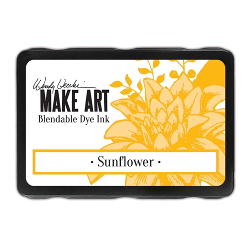 Ranger Wendy Vecchi SUNFLOWER Make Art Dye Ink Pad wvd62653 Preview Image