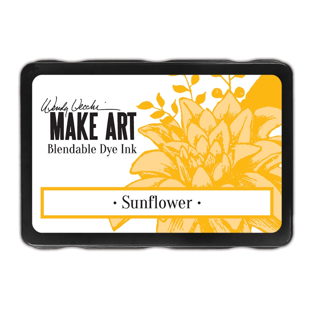 Ranger Wendy Vecchi SUNFLOWER Make Art Dye Ink Pad wvd62653 zoom image