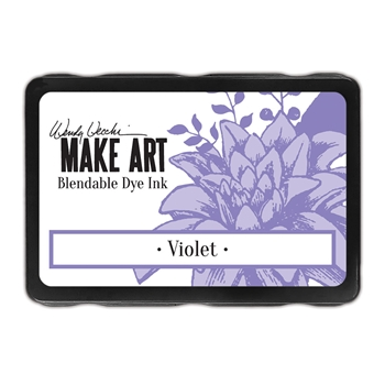 Ranger Wendy Vecchi VIOLET Make Art Dye Ink Pad wvd62660
