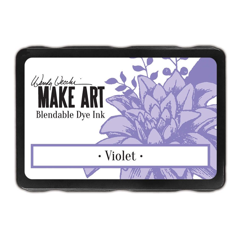 Ranger Wendy Vecchi VIOLET Make Art Dye Ink Pad wvd62660 zoom image