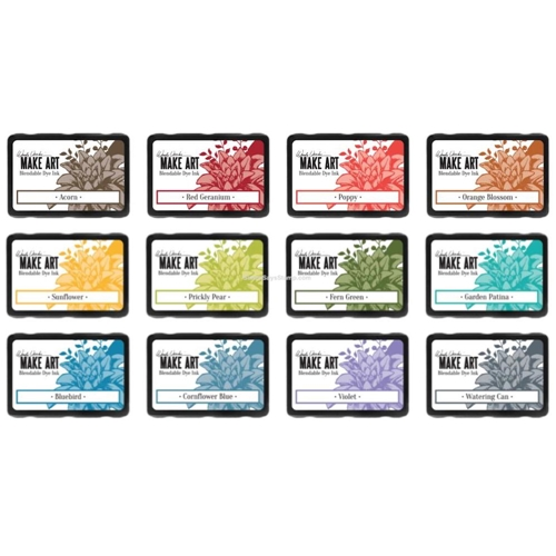 Ranger Wendy Vecchi MAKE ART DYE INK PAD 12 SET ranger112 Preview Image