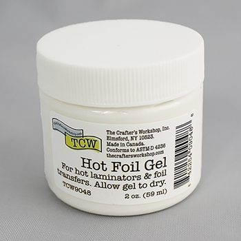 The Crafter's Workshop HOT FOIL GEL 2oz tcw9048