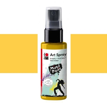 Marabu SUNSHINE YELLOW Acrylic Art Spray 12099005220