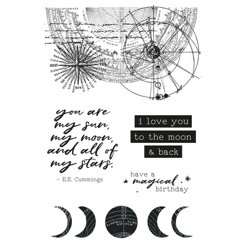 Kaisercraft STARGAZER Clear Stamps CS327 Preview Image