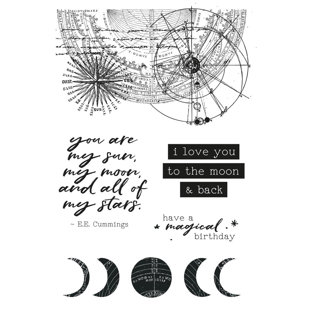 Kaisercraft STARGAZER Clear Stamps CS327 zoom image
